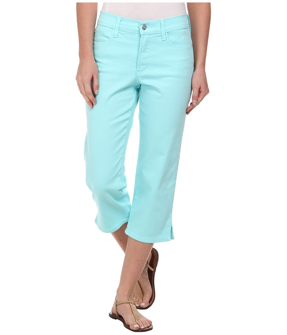 NYDJ - Bella Crop (Aqua Splash) Women's Clothing