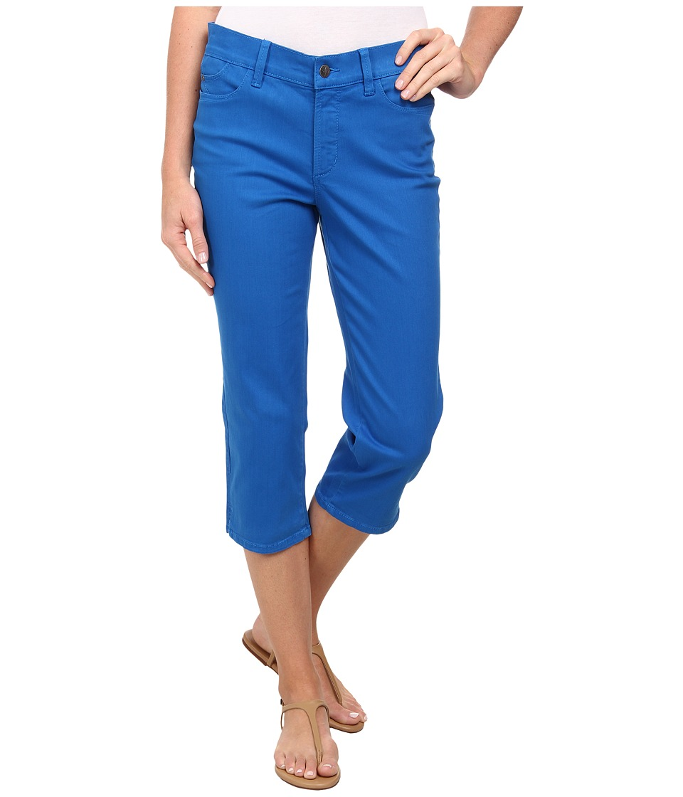 NYDJ - Bella Crop (Olympia Blue) Women's Clothing