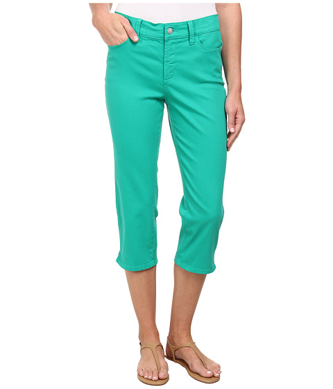 NYDJ - Bella Crop (Malachite) Women's Clothing