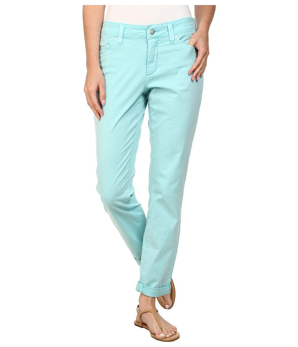 NYDJ - Anabelle Skinny Boyfriend Pigment (Aqua Splash) Women's Casual Pants