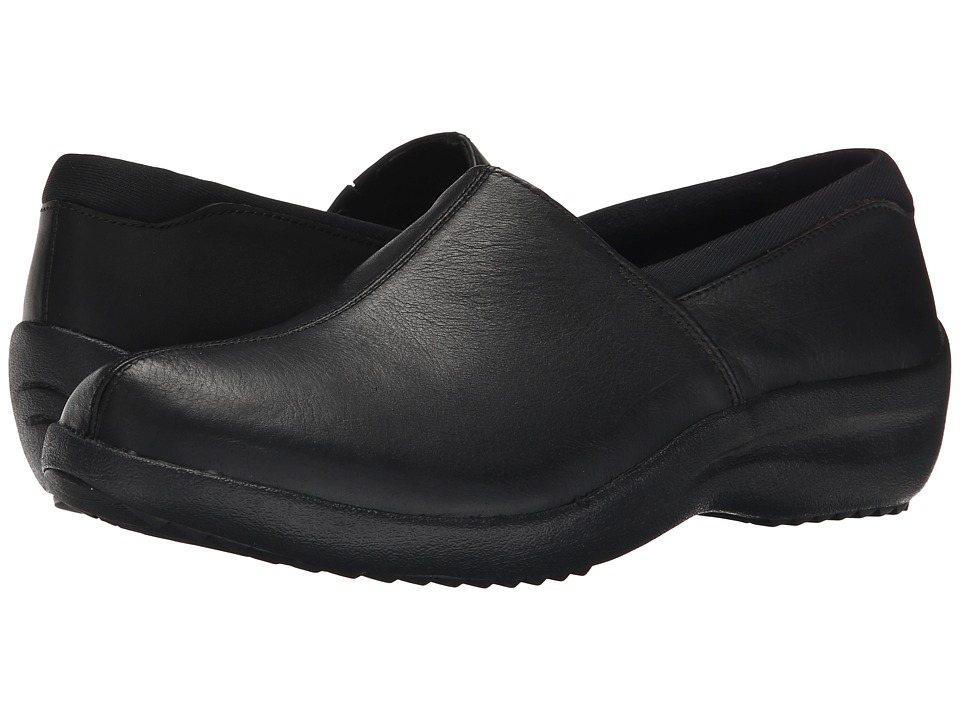 SKECHERS - Relaxed Fit - Savor (Black) Women's Slip on Shoes