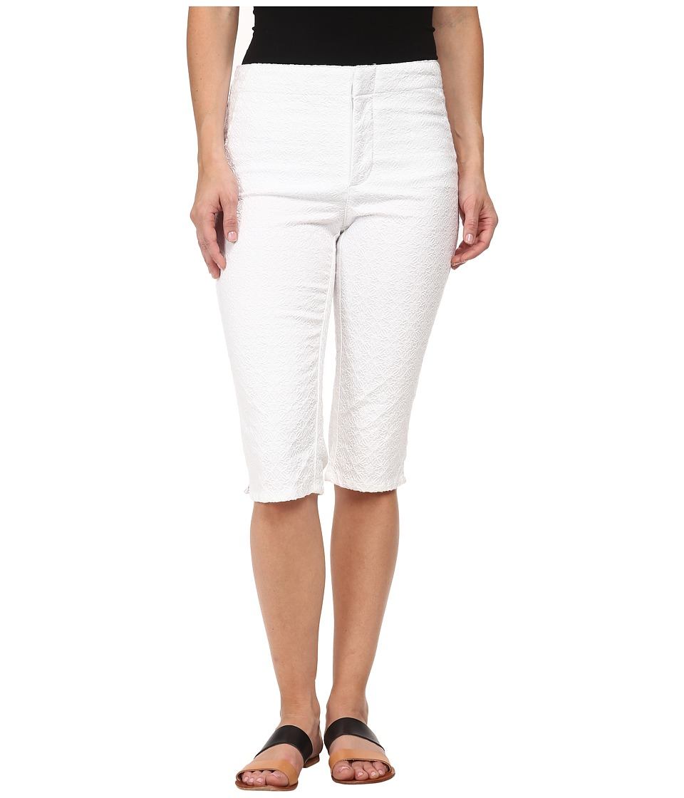NYDJ Petite Petite Kaelin Skimmer Jacquard (Optic White) Women