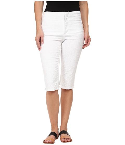 NYDJ Petite - Petite Kaelin Skimmer - Jacquard (Optic White) Women's Capri