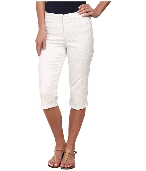 NYDJ - Kaelin Skimmer - Jacquard (Optic White) Women's Clothing
