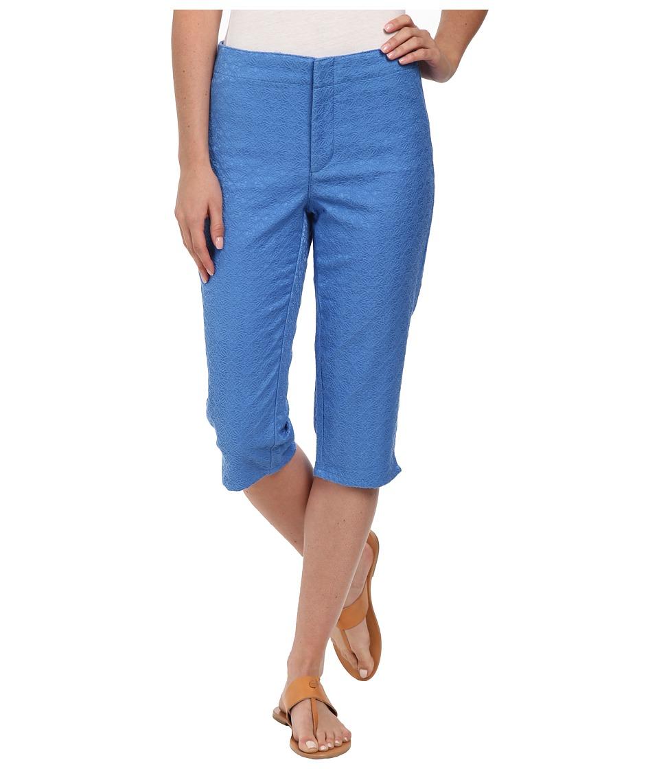 NYDJ - Kaelin Skimmer - Jacquard (Stellar Blue) Women's Clothing