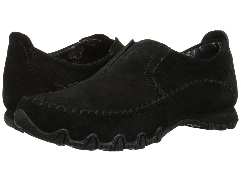 SKECHERS - Bikers - Freeway (Black) Women's Slip on Shoes