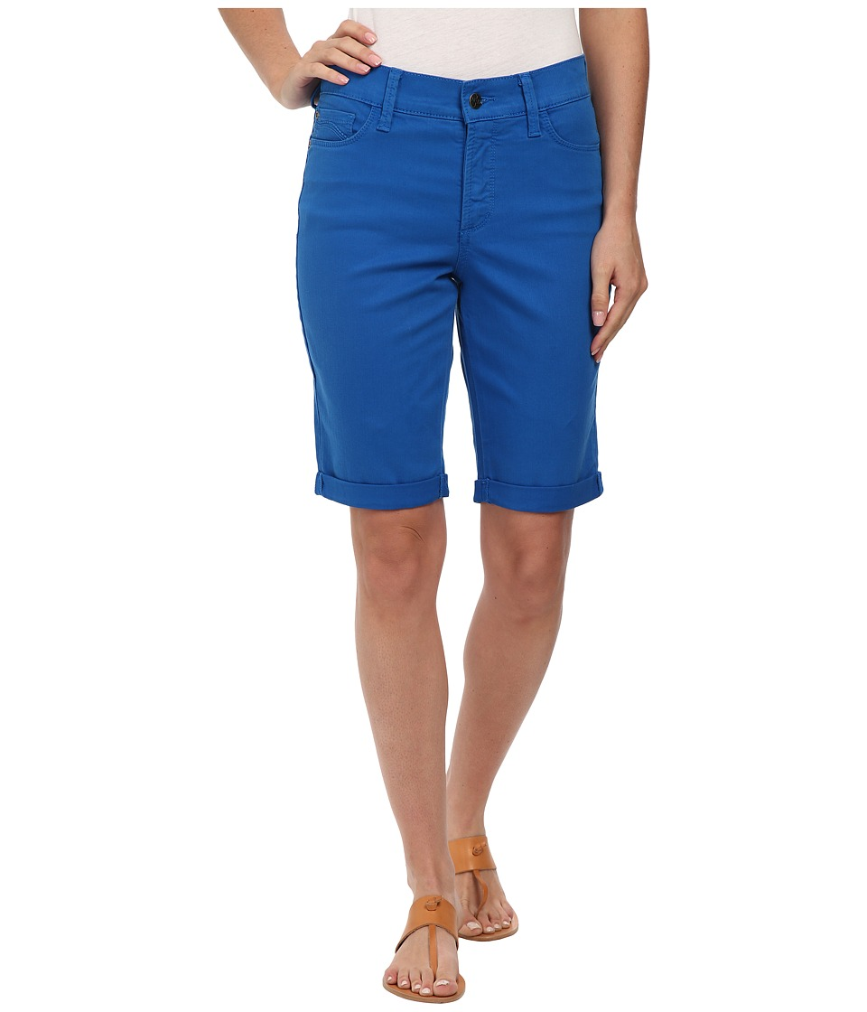 NYDJ - Catherine Shorts - Linen (Majesty Blue) Women's Shorts