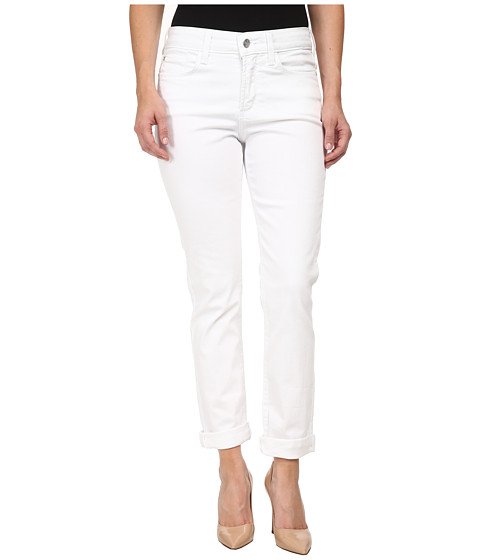 NYDJ Petite - Petite Leann Boyfriend (Optic White) Women's Jeans
