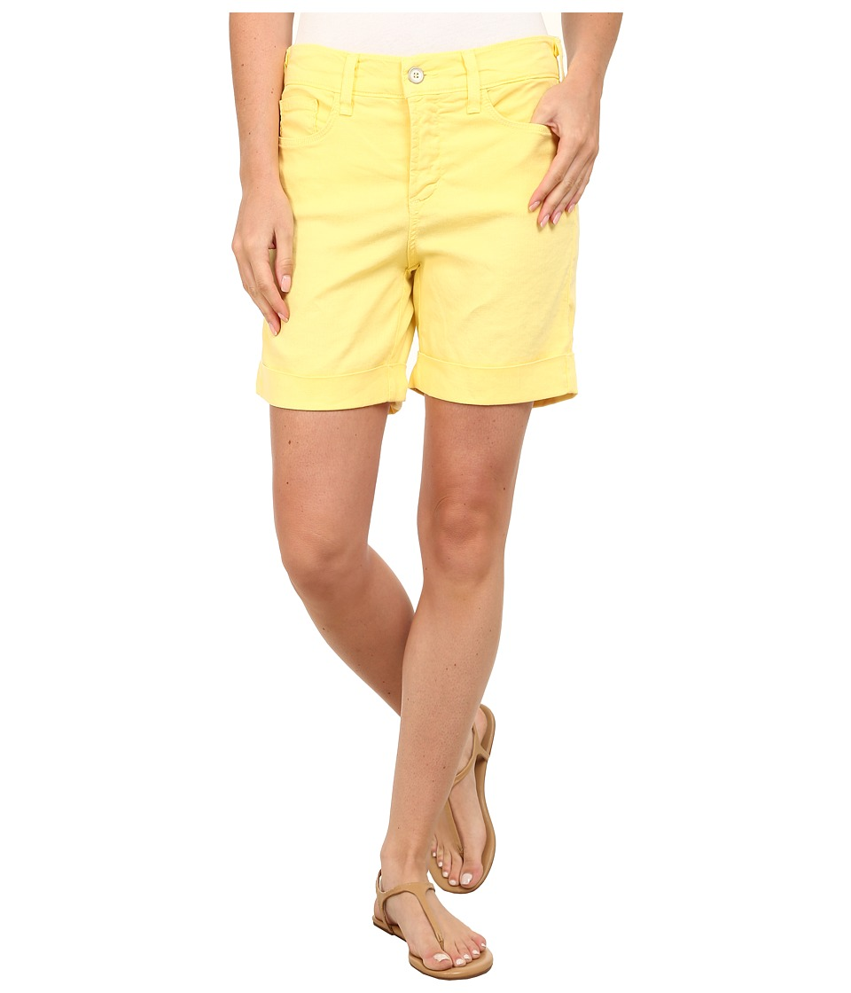 NYDJ - Avery Shorts - Linen (Lemon) Women's Shorts