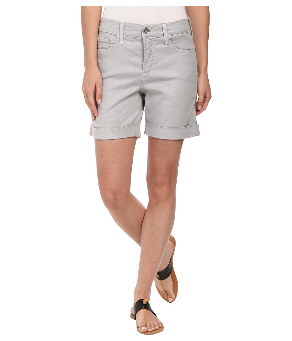 NYDJ - Avery Shorts - Linen (Moonstone Grey) Women