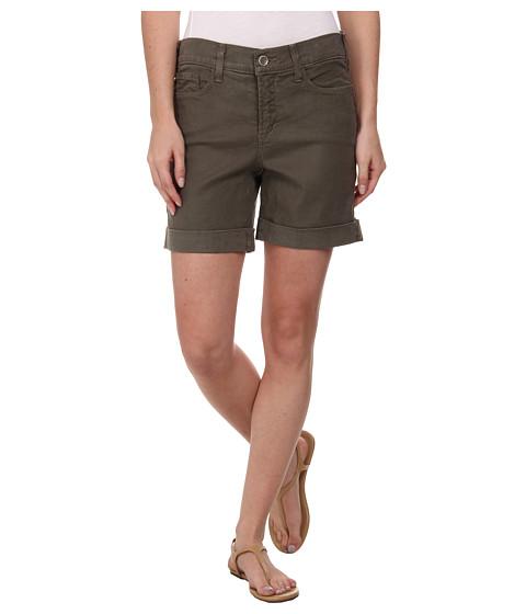 NYDJ - Avery Shorts - Linen (Dark Olive) Women's Shorts