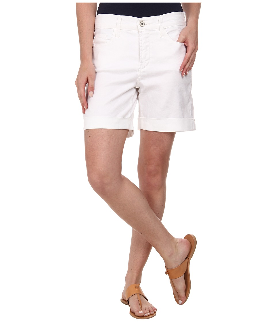 NYDJ - Avery Shorts - Linen (Optic White) Women's Shorts