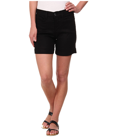 NYDJ - Avery Shorts - Linen (Black) Women