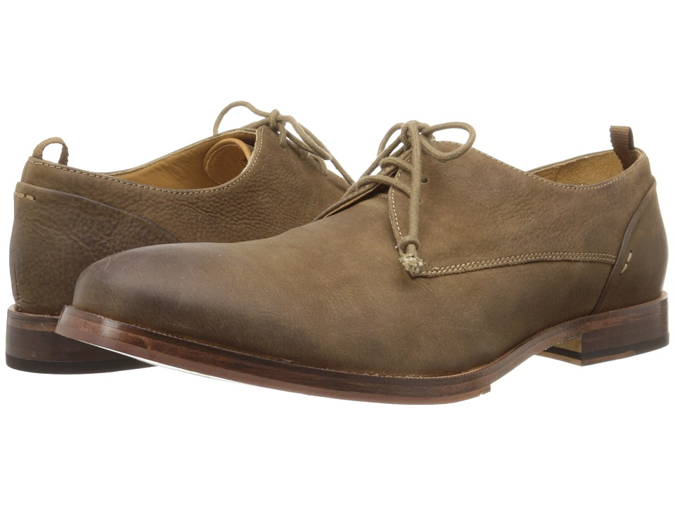 J. Shoes - Mar (Dark Taupe) Men's Lace up casual Shoes