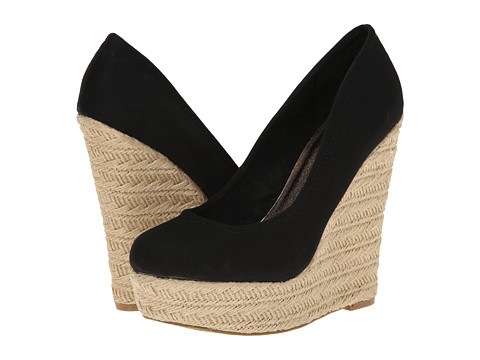 Madden Girl - Thicke (Black Canvas) Women's Shoes