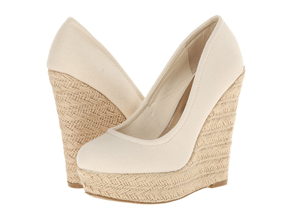 Madden Girl - Thicke (Natural Canvas) Women's Shoes
