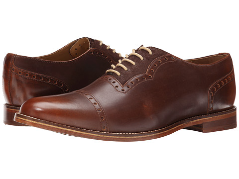 J. Shoes - Chalice (Dark Tan/Chocolate) Men