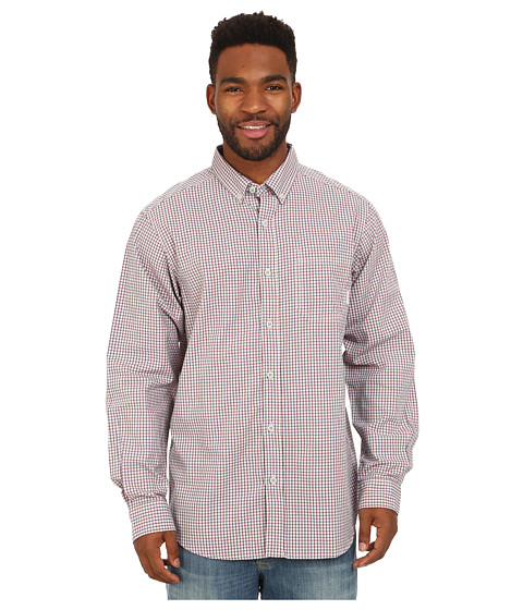 Columbia - Rapid Rivers Long Sleeve Shirt (Nectar Mini Check) Men's Long Sleeve Button Up