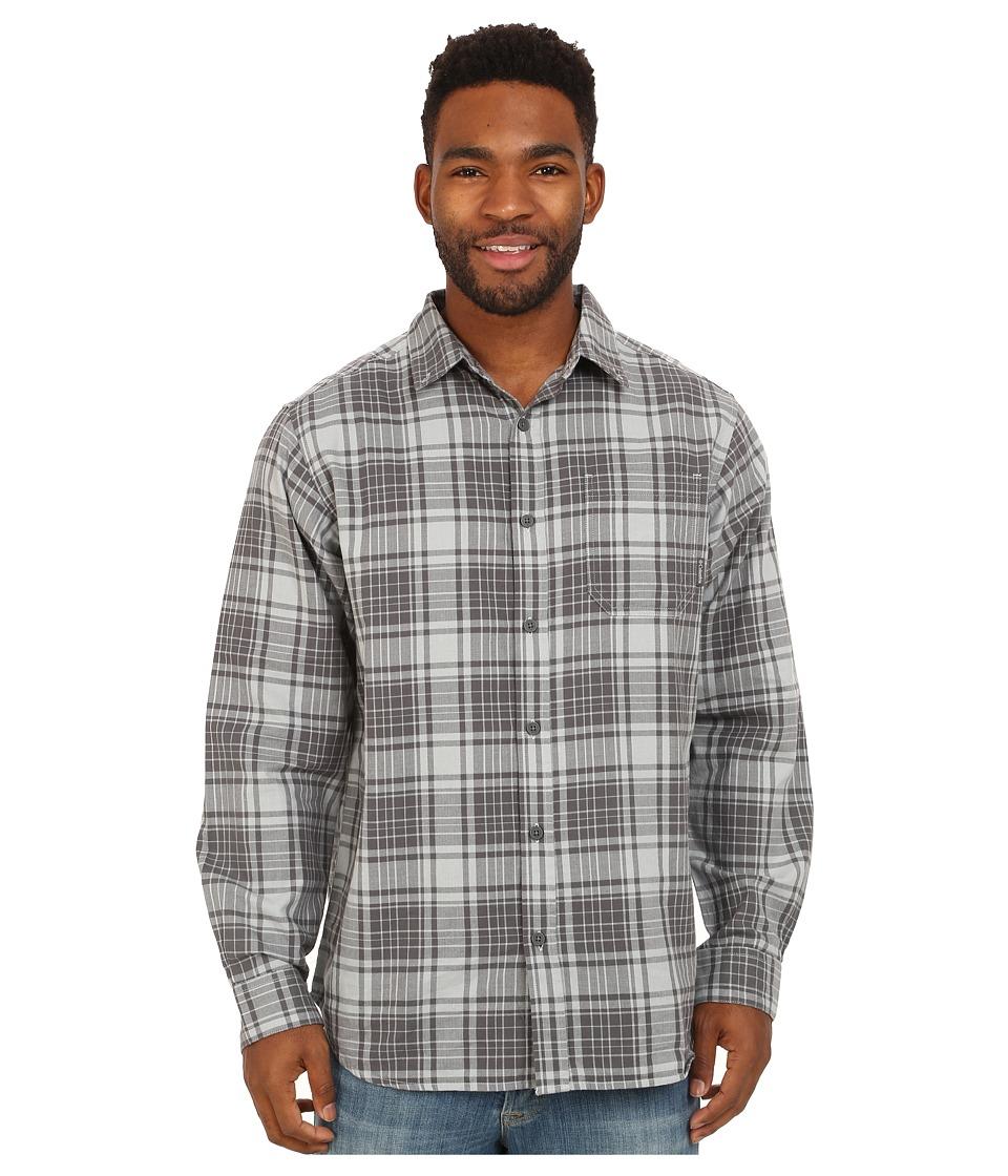 Columbia - Rapid Rivers Long Sleeve Shirt (Earl Grey Plaid) Men