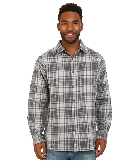 Columbia - Rapid Rivers Long Sleeve Shirt (Earl Grey Plaid) Men's Long Sleeve Button Up