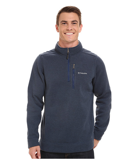 Columbia - Terpin Point II Half Zip (Carbon) Men's Long Sleeve Pullover