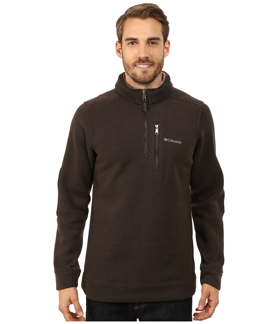 Columbia - Terpin Pointtm II Half Zip (Buffalo) Men's Long Sleeve Pullover