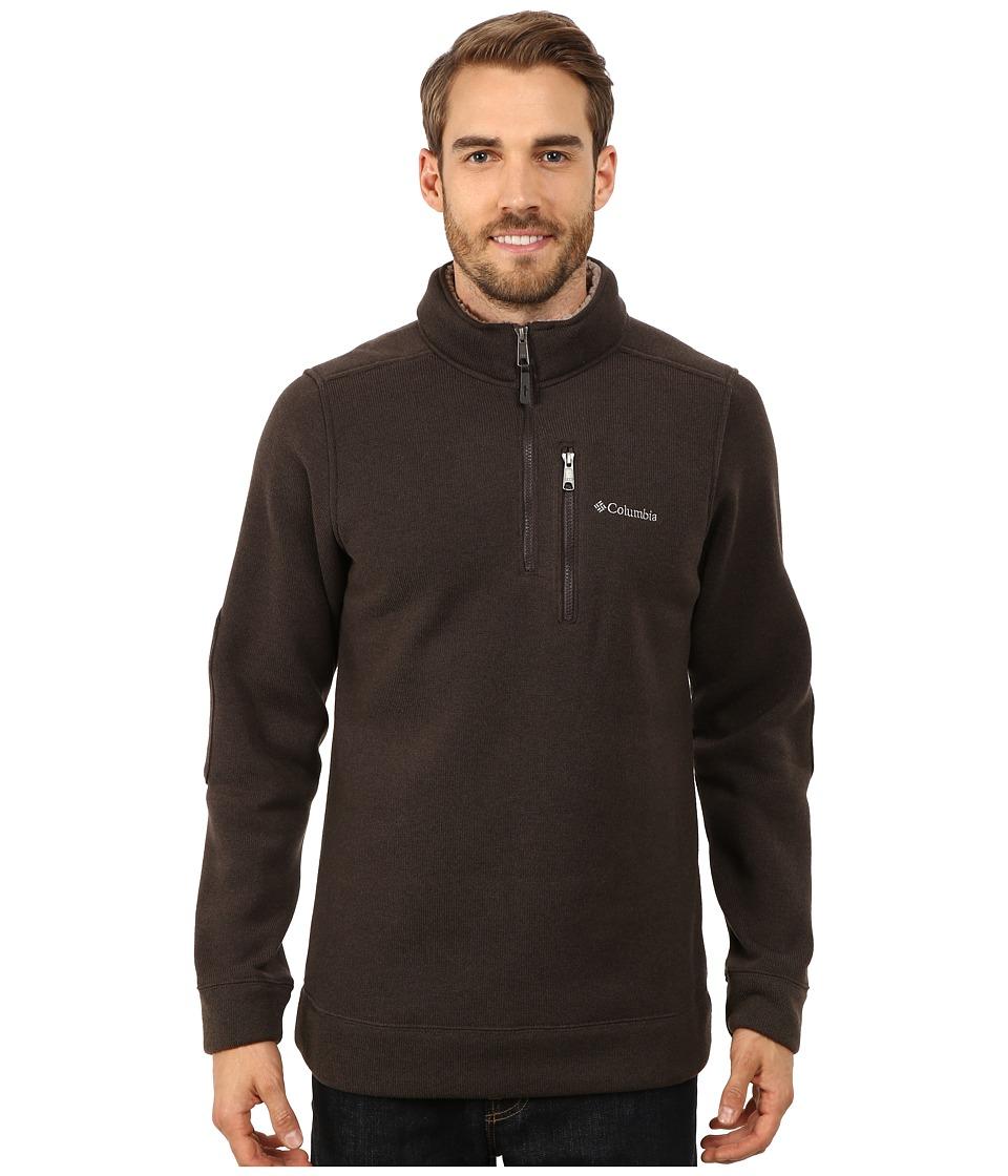 Columbia - Terpin Pointtm II Half Zip (Buffalo) Men's Long Sleeve Pullover