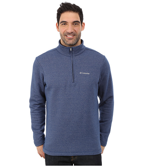 Columbia - Great Hart Mountain III Half Zip (Carbon Heather) Men