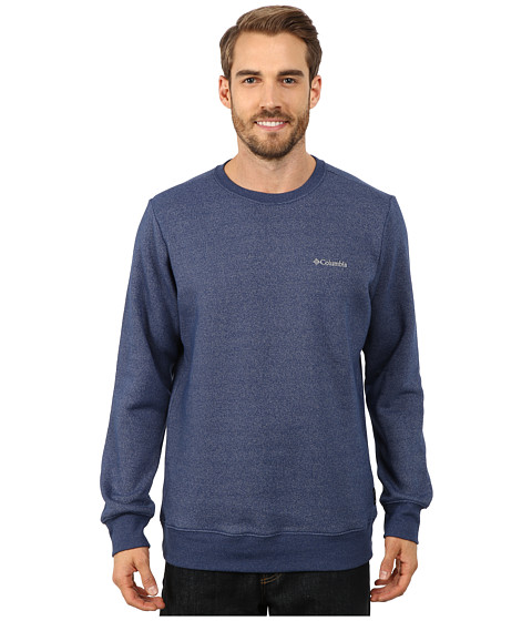 Columbia - Great Hart Mountain II Crew (Carbon Heather) Men's Clothing
