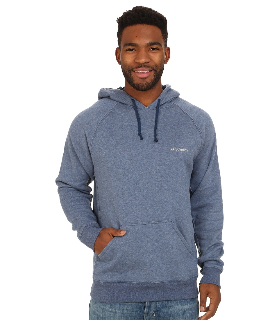 Columbia - Hart Mountain II Hoodie (Carbon Heather) Men's Sweatshirt