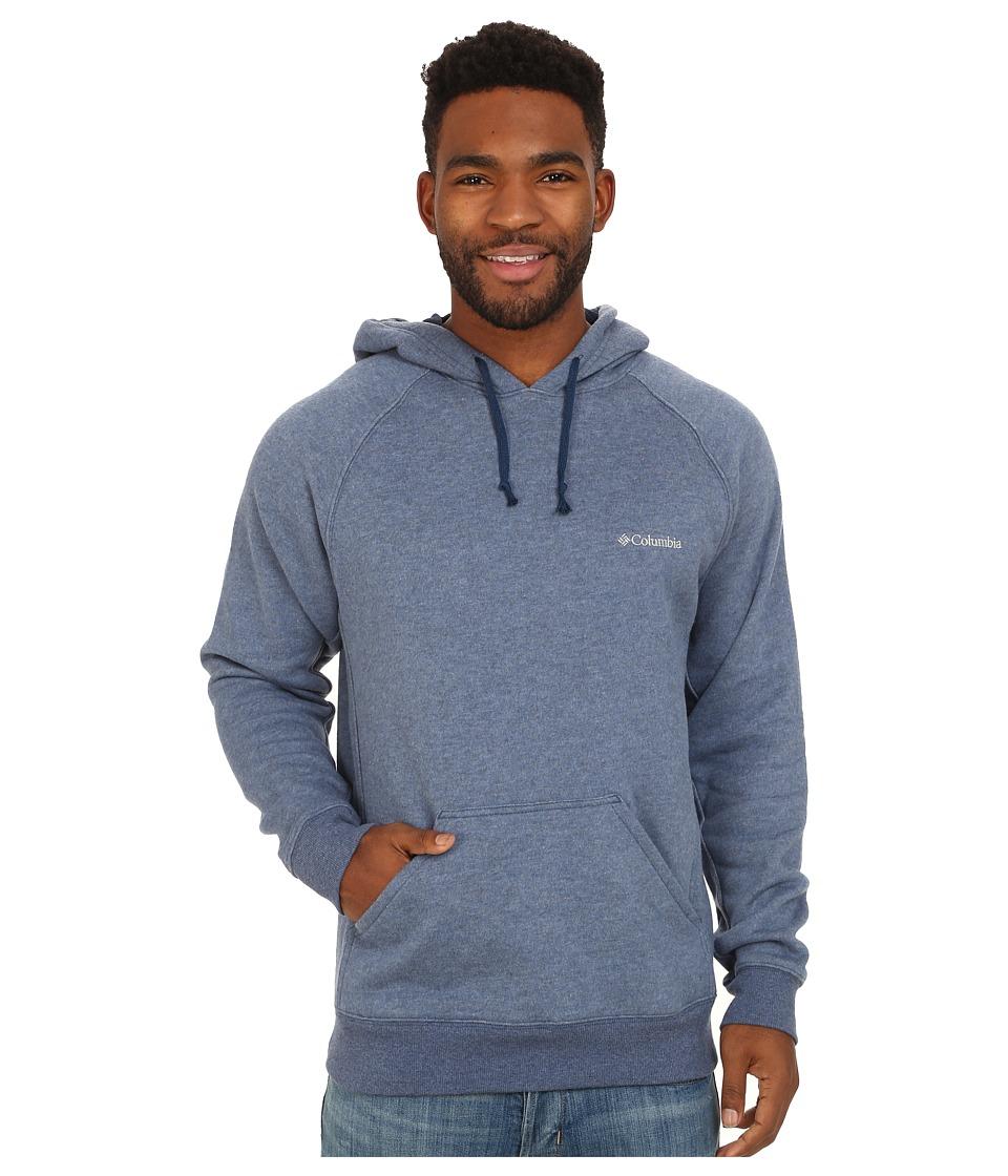 Columbia - Hart Mountain II Hoodie (Carbon Heather) Men's Sweatshirt