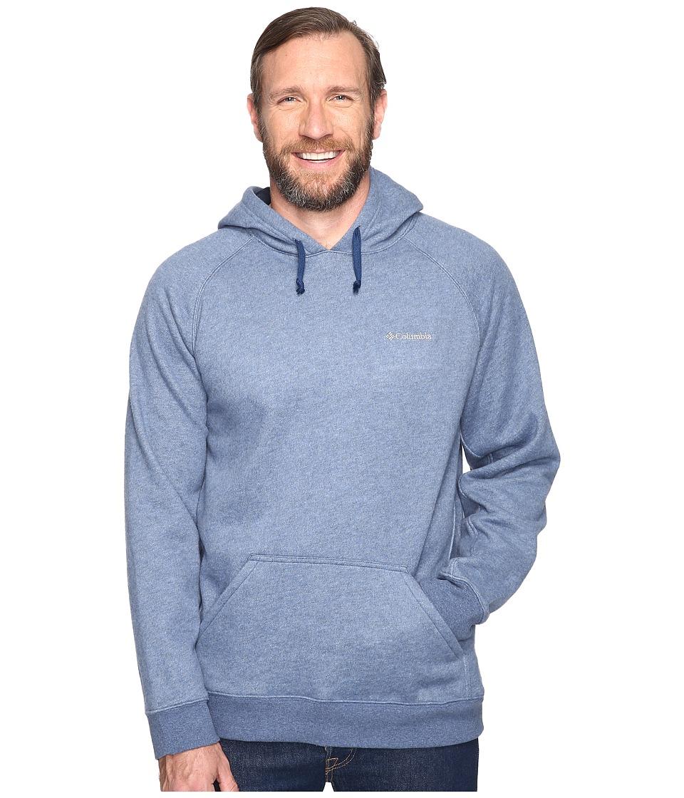 Columbia - Big Tall Hart Mountain II Hoodie (Carbon Heather) Men's Sweatshirt