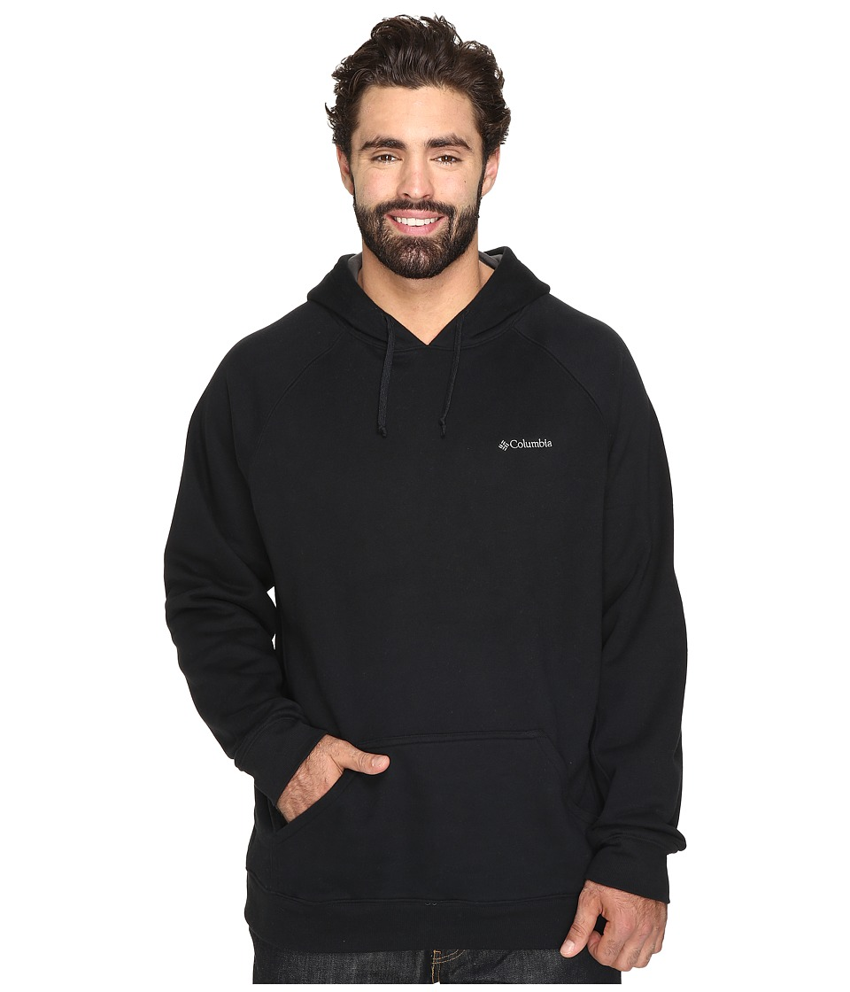 Columbia - Big Tall Hart Mountain II Hoodie (Black) Men's Sweatshirt