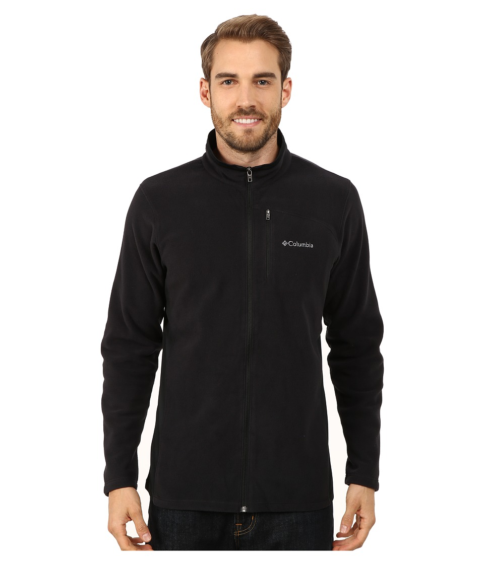 Columbia - Lost Peak Full Zip Fleece (Black) Men's Fleece