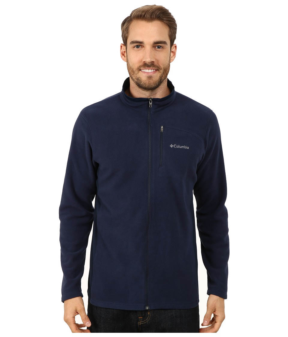 Columbia - Lost Peak Full Zip Fleece (Collegiate Navy) Men's Fleece
