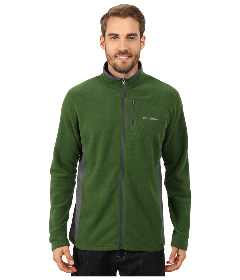 Columbia - Lost Peak Full Zip Fleece (Woodland/Graphite) Men's Fleece