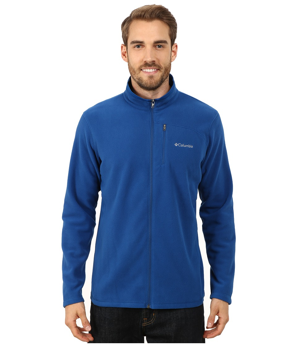 Columbia - Lost Peak Full Zip Fleece (Marine Blue) Men's Fleece