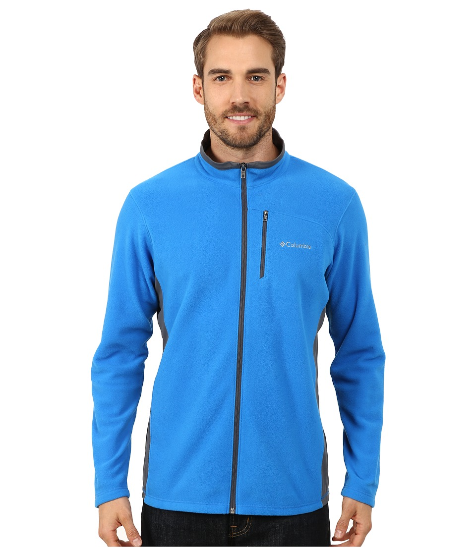 Columbia - Lost Peak Full Zip Fleece (Hyper Blue/Graphite) Men's Fleece