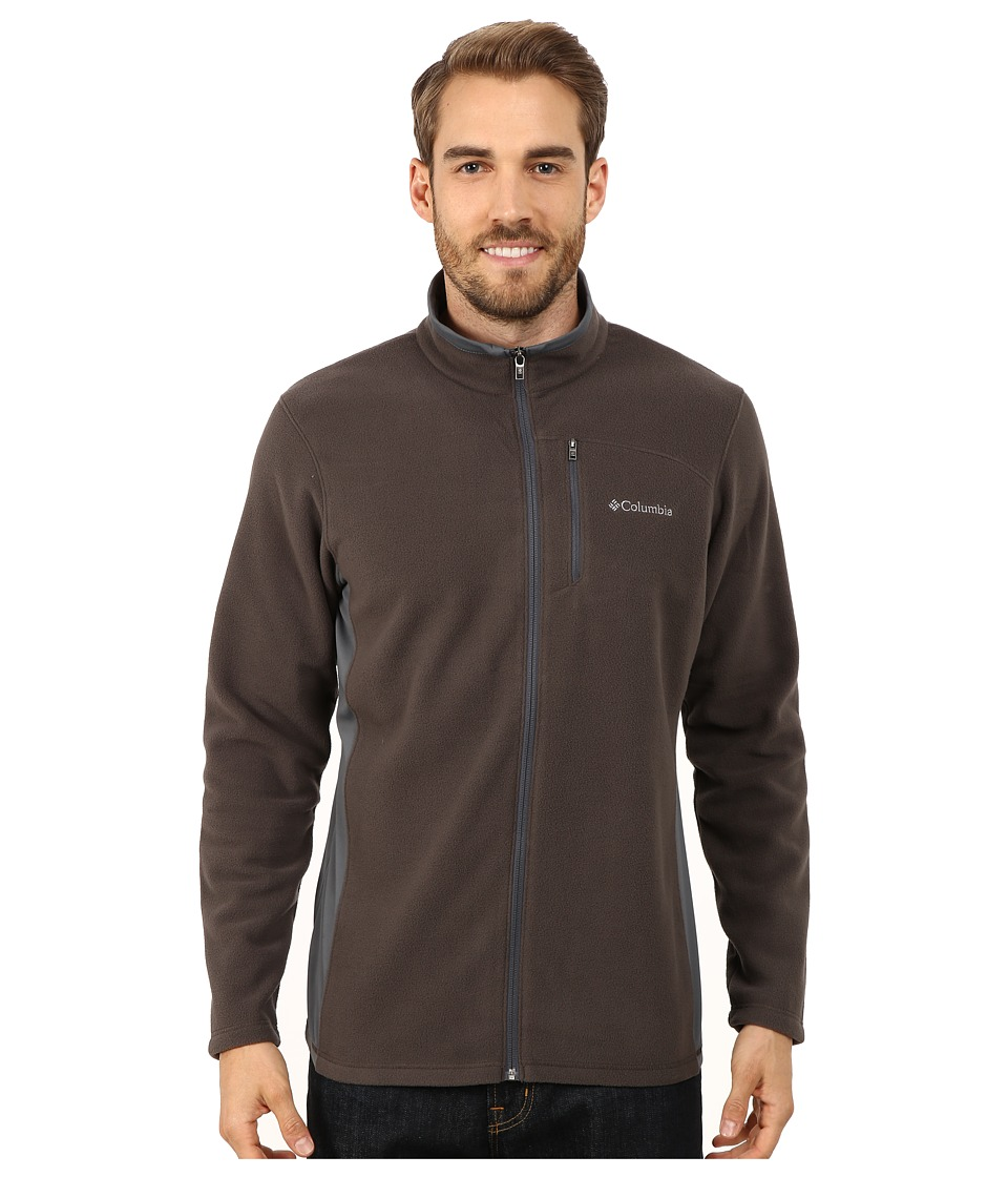 Columbia - Lost Peak Full Zip Fleece (Buffalo/Graphite) Men's Fleece