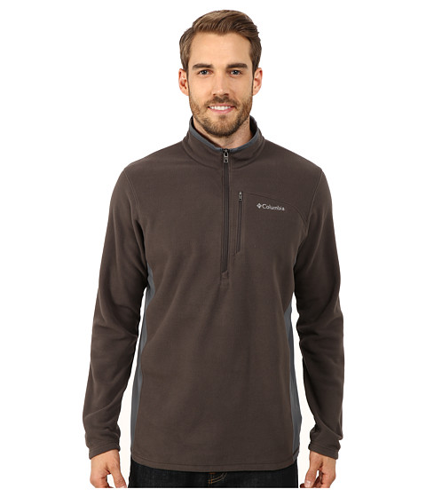Columbia - Lost Peak Half Zip Fleece (Buffalo/Graphite) Men