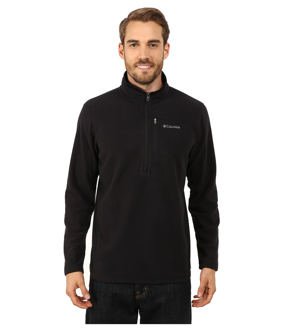 Columbia - Lost Peaktm Half Zip Fleece (Black) Men's Fleece
