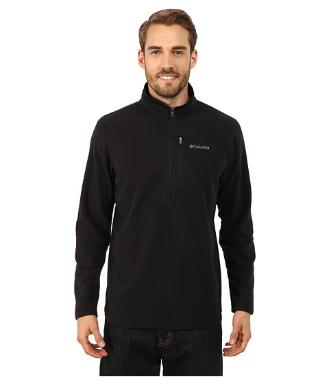 Columbia - Lost Peak Half Zip Fleece (Black) Men's Fleece