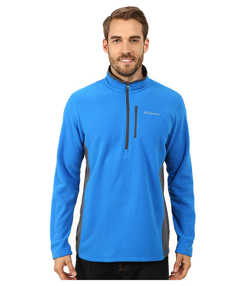 Columbia - Lost Peak Half Zip Fleece (Hyper Blue/Graphite) Men's Fleece