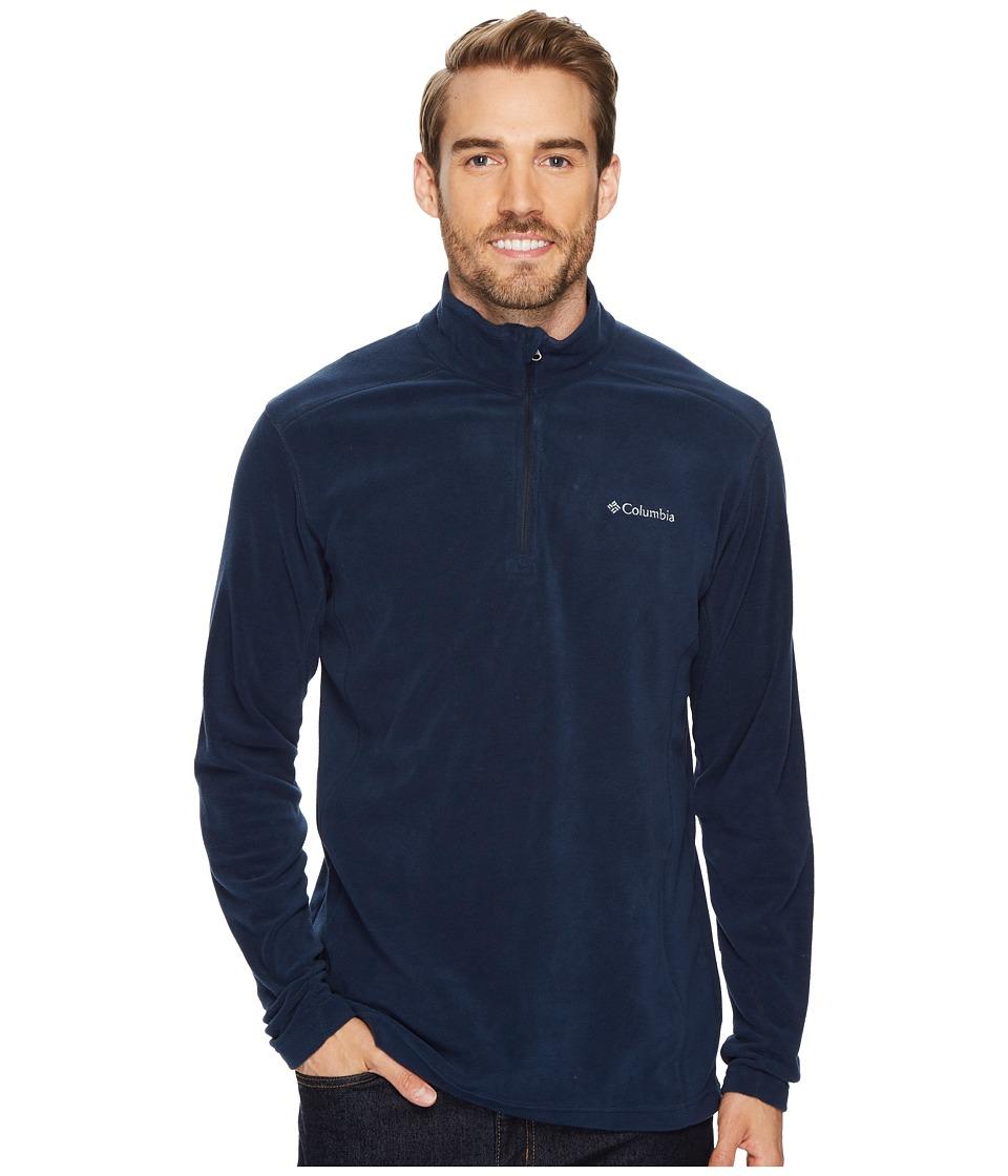 Columbia - Klamath Rangetm II Half Zip (Collegiate Navy) Men's Long Sleeve Pullover