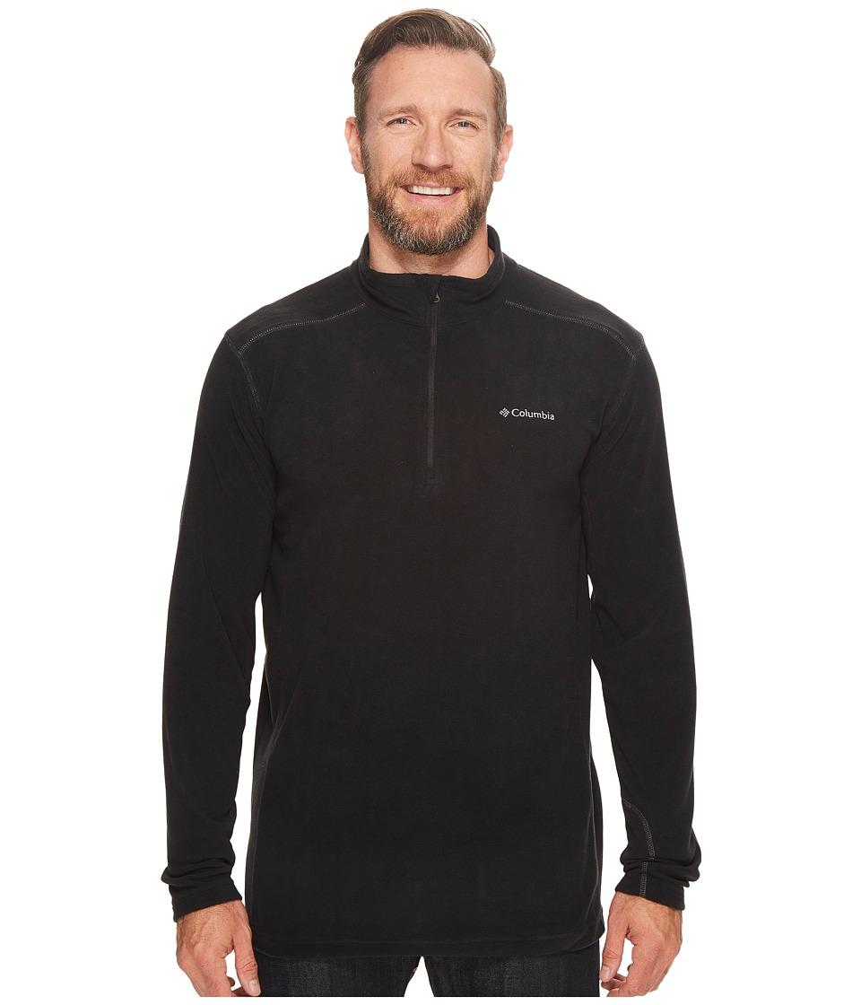 Columbia - Big Tall Klamath Rangetm II 1/2 Zip (Black) Men's Coat
