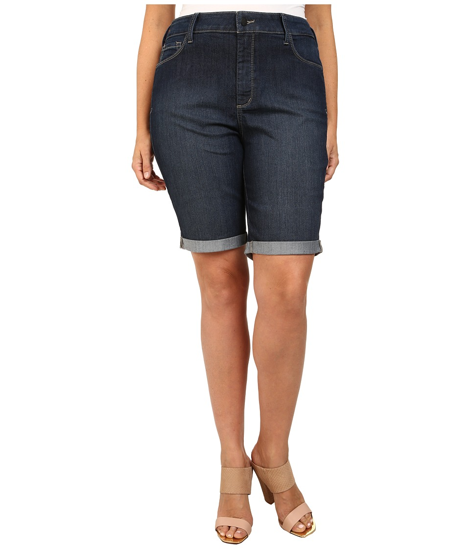 NYDJ Plus Size - Plus Size Briella Shorts (Hollywood) Women
