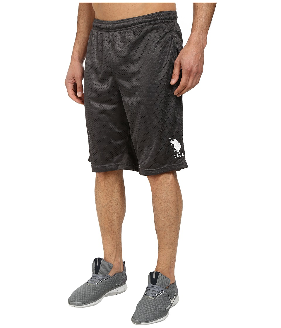 U.S. POLO ASSN. - Mesh Athletic Shorts (Castlerock) Men's Shorts