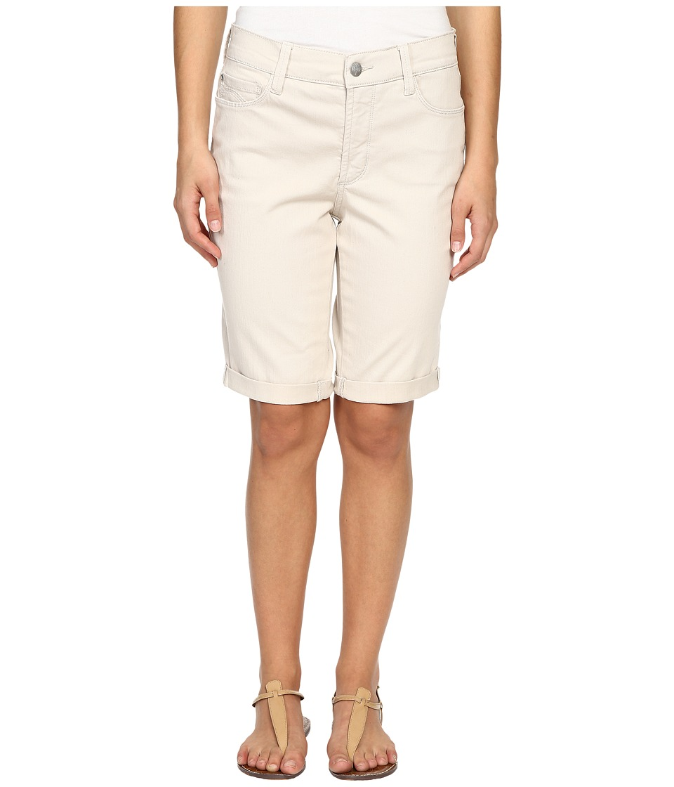 NYDJ Petite - Petite Briella Roll Cuff Shorts (Clay) Women's Shorts