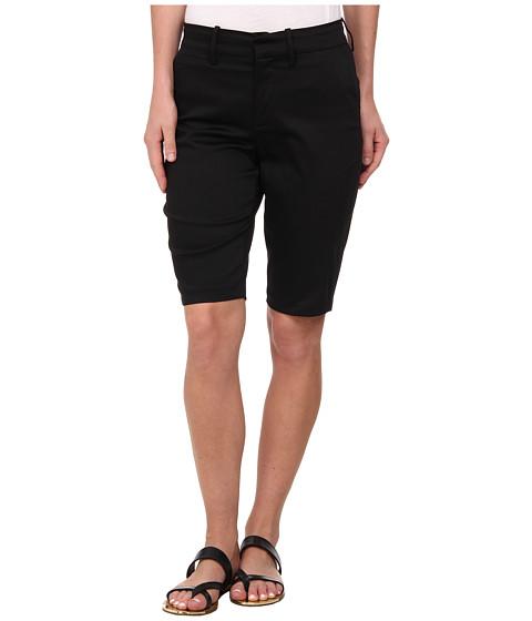 NYDJ - Justina Shorts - Sateen (Black) Women