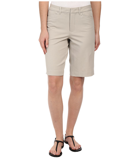 NYDJ - Bi-Stretch Bermuda Shorts (Stone) Women's Shorts